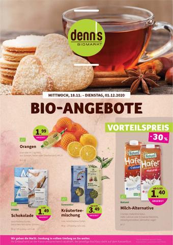denn's Biomarkt Prospekt (bis einschl. 01-12)