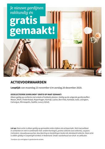 Carpetright reclame folder (geldig t/m 31-12)