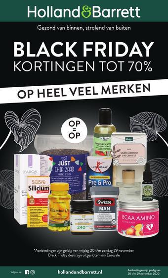 Holland & Barrett reclame folder (geldig t/m 29-11)