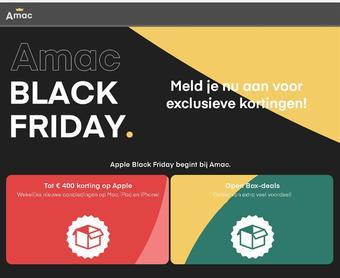 Amac reclame folder (geldig t/m 28-11)