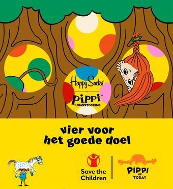 Happy Socks reclame folder (geldig t/m 25-01)