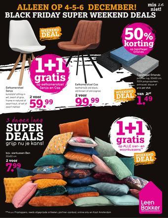 Leen Bakker reclame folder (geldig t/m 06-12)