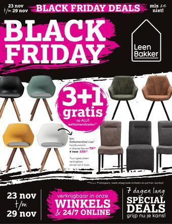 Leen Bakker reclame folder (geldig t/m 29-11)