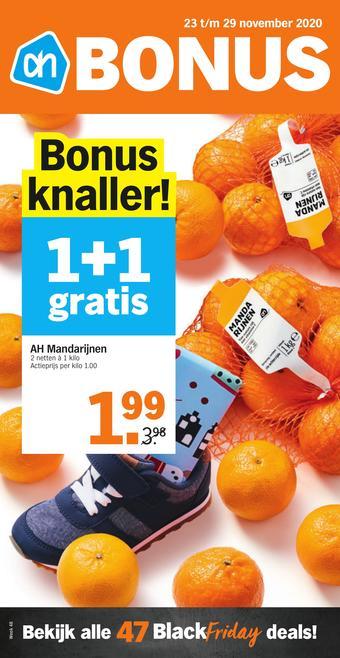 Albert Heijn reclame folder (geldig t/m 29-11)
