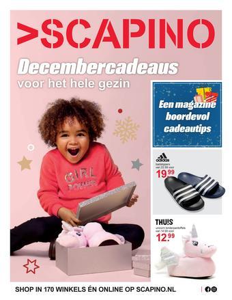 Scapino reclame folder (geldig t/m 06-12)