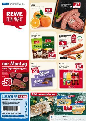 REWE Kaufpark Prospekt (bis einschl. 28-11)
