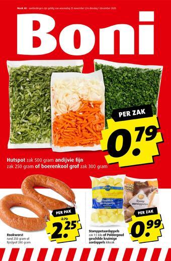 Boni reclame folder (geldig t/m 02-12)