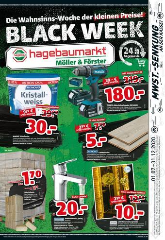 Hagebaumarkt Prospekt (bis einschl. 01-12)