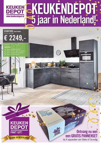 Keukendepot reclame folder (geldig t/m 29-11)