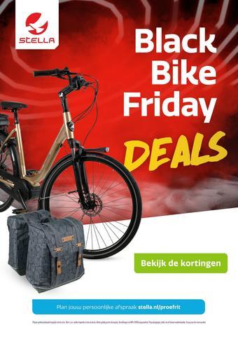 Stella fietsen reclame folder (geldig t/m 28-11)