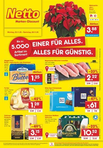 Netto Marken-Discount Prospekt (bis einschl. 28-11)