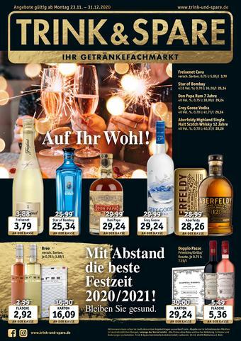 Trink und Spare Prospekt (bis einschl. 31-12)