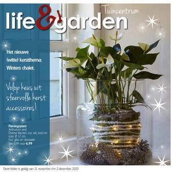 Life & Garden reclame folder (geldig t/m 02-12)