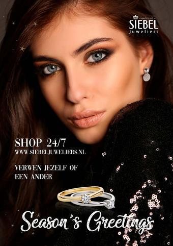 Siebel Juweliers reclame folder (geldig t/m 27-12)