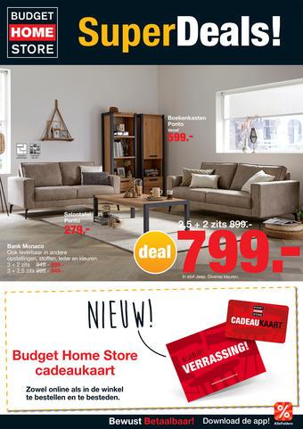 Budget Home Store reclame folder (geldig t/m 06-12)