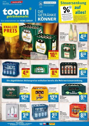 toom Getränkemarkt Prospekt (bis einschl. 05-12)