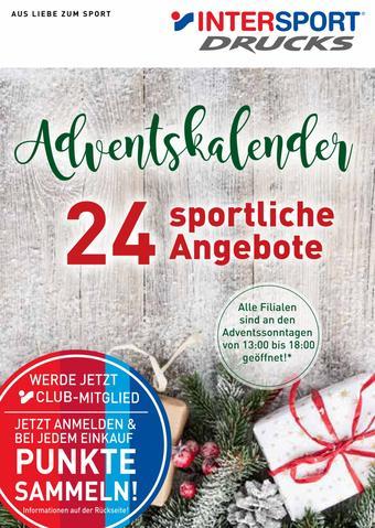 Intersport Drucks Prospekt (bis einschl. 31-12)