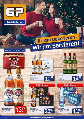 GetränkePartner Prospekt (bis einschl. 28-11)