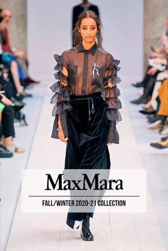 MaxMara reclame folder (geldig t/m 24-01)
