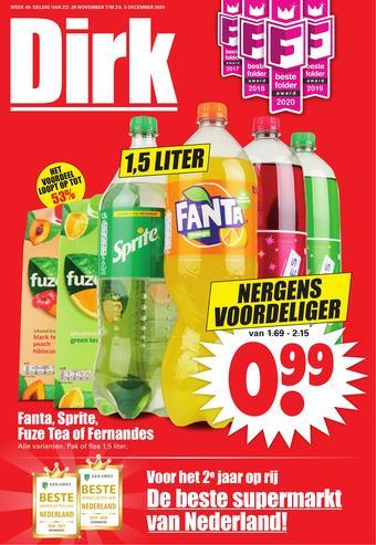 Dirk reclame folder (geldig t/m 05-12)