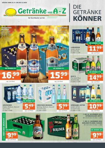 Getränke A-Z Prospekt (bis einschl. 08-12)
