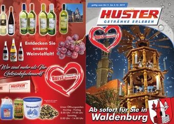 Getränke Huster Prospekt (bis einschl. 05-12)