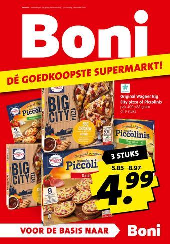 Boni reclame folder (geldig t/m 08-12)