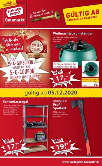 Sonderpreis Baumarkt Prospekt (bis einschl. 11-12)