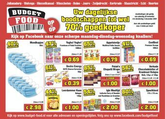 Budget Food reclame folder (geldig t/m 03-12)