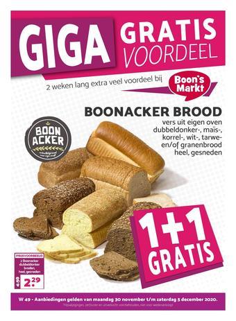 Boon`s Markt reclame folder (geldig t/m 06-12)