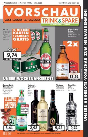 Trink und Spare Prospekt (bis einschl. 05-12)