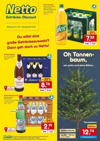 Netto Getränke Discount Prospekt (bis einschl. 05-12)