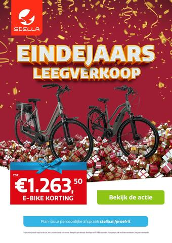 Stella fietsen reclame folder (geldig t/m 05-12)