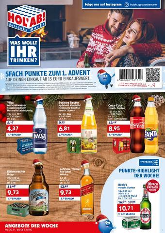 Hol'ab Getränkemarkt Prospekt (bis einschl. 05-12)