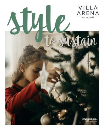 Villa Arena reclame folder (geldig t/m 31-01)