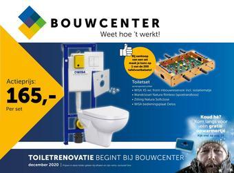 Bouwcenter reclame folder (geldig t/m 03-01)
