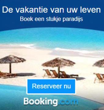 Booking.com reclame folder (geldig t/m 31-01)