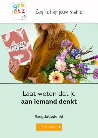 Greetz reclame folder (geldig t/m 31-03)