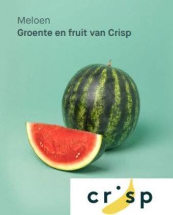 Crisp reclame folder (geldig t/m 31-01)