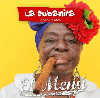 La Cubanita reclame folder (geldig t/m 11-01)
