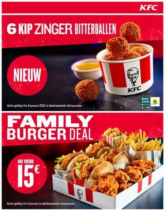 KFC reclame folder (geldig t/m 04-01)