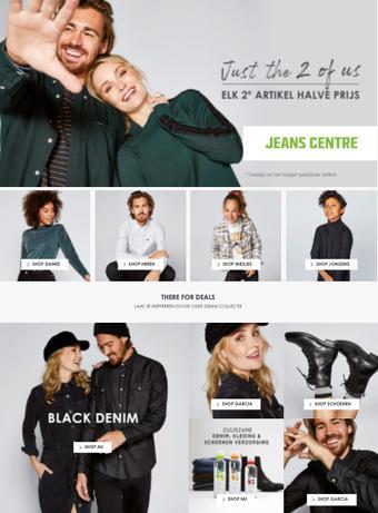Jeans Centre reclame folder (geldig t/m 13-12)