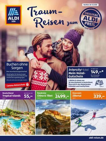 Aldi Süd Reisen Prospekt (bis einschl. 31-12)