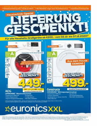 Euronics XXL Prospekt (bis einschl. 07-12)