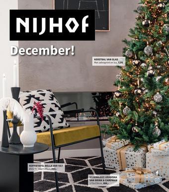 Nijhof reclame folder (geldig t/m 24-12)