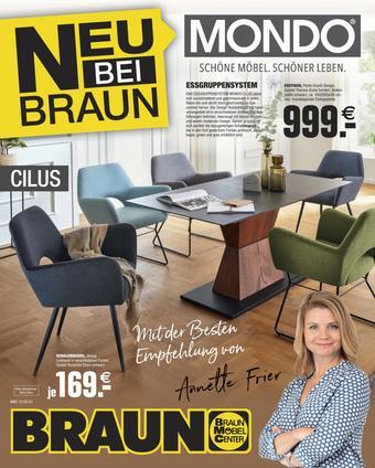 Möbel Braun Prospekt (bis einschl. 31-12)