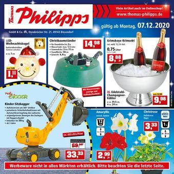 Thomas Philipps Prospekt (bis einschl. 12-12)