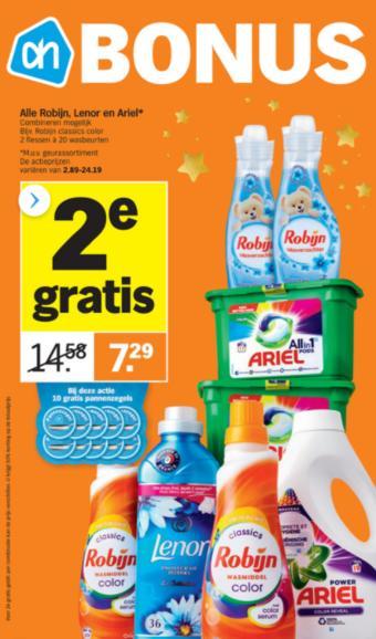 Albert Heijn reclame folder (geldig t/m 13-12)