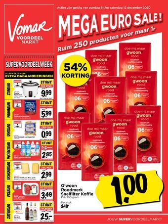 Vomar reclame folder (geldig t/m 12-12)