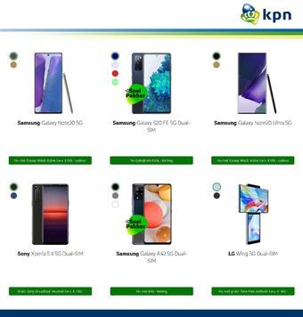 KPN reclame folder (geldig t/m 18-01)